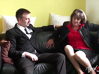 Traditional sexual intercourse with mature lady from great britain