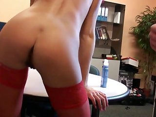 Geiler tiefer anal hardcore Anal Buero amateur Fick