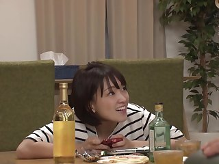 JAV - school girls do it secretly in front of family (nhdtb 213)