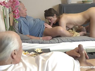 Teenager suits old man's sexual dream