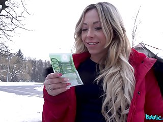 First time she accepts cash for sex